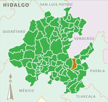 Mapa de Acatlán